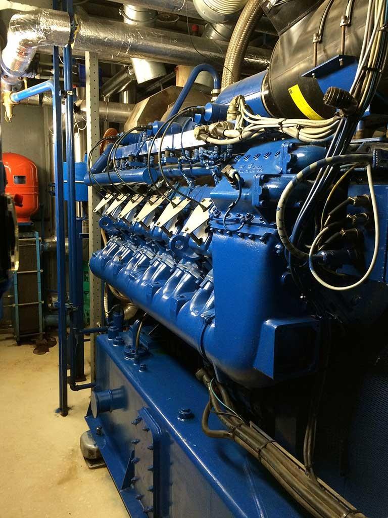 WKK Biogas motoren